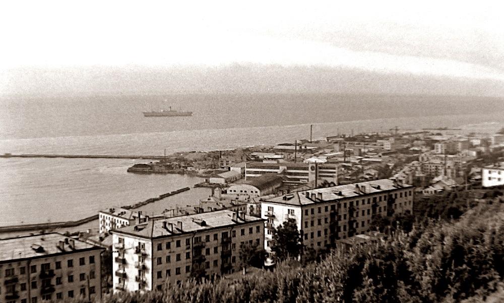 Вид на город Холмск
