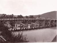 Мост через реку Большая Тымь. Село Дербинское