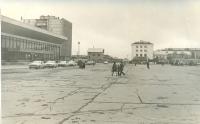 Железнодорожный вокзал и привокзальная площадь г. Южно-Сахалинск