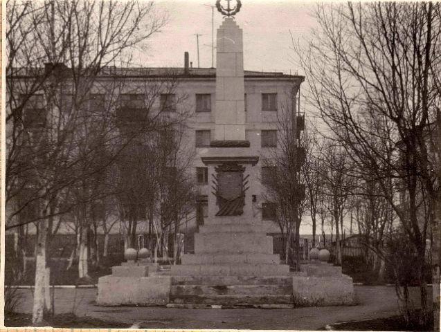 Памятник павшим при освобождение Корсакова от японских империалистов