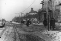 Улица Советская, справа здание Корсаковского ГОВД