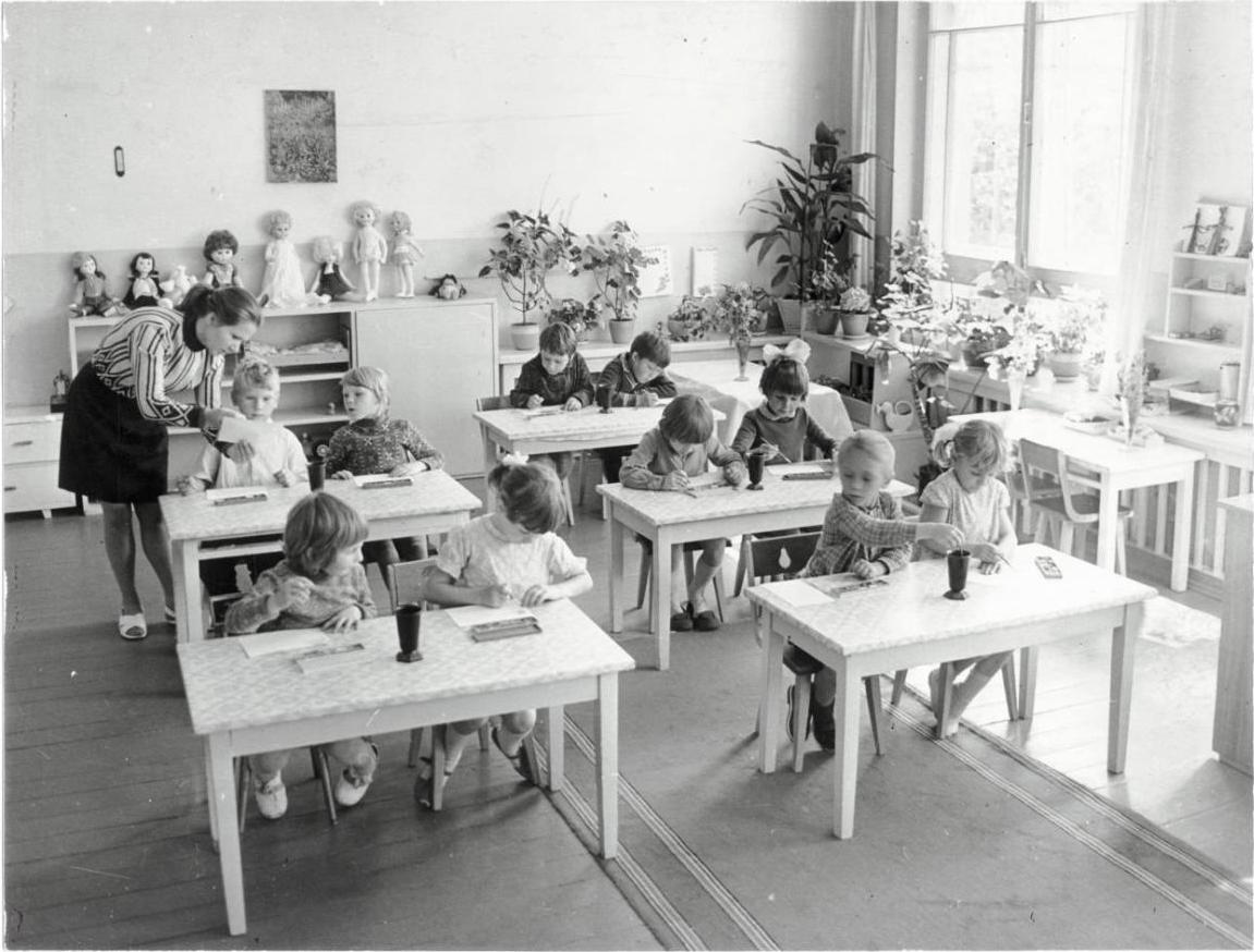 В детском саду с. Березняки