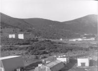 Часть поселка Кратерный, остров Симушир.