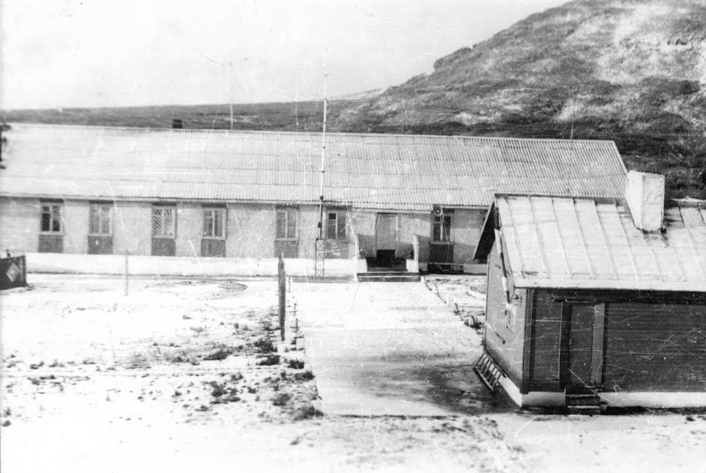 Застава Сарычево на острове Матуа.