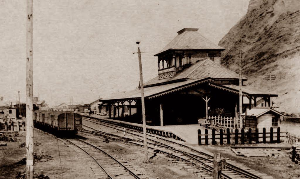 Железнодорожная станция Сакаэмачи в Отомари