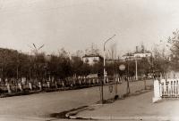 Комсомольская площадь г. Корсаков