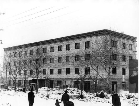 Строительство гостиницы Юбилейная в г. Долинск