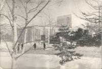 Вид на театр им. А.П.Чехова. 2 февраля.
