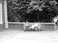 В ожидании поезда. Станция Комсомольская. Детская железная дорога в городском парке.