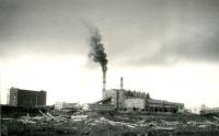 Вид на Сахалинскую ГРЭС п. Лермонтовка