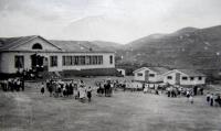 Главный корпус пионерлагеря 'Орленок' в г. Макаров