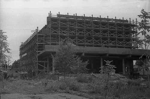 Строительство кинотеатра