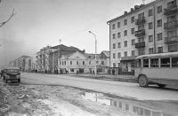 Улица Ленина. Вид с севера на юг. Район дома №192