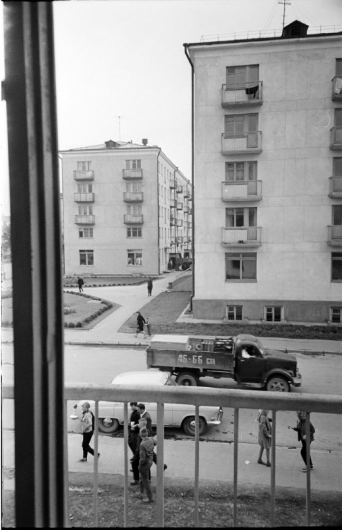 Пересечение улиц Хабаровской и Ленина.