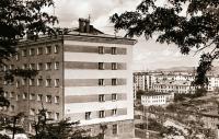 Здание общежития мореходной школы г. Корсаков.