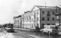 Жилые дома на Советской заселенные в 1957 году. г. Корсаков