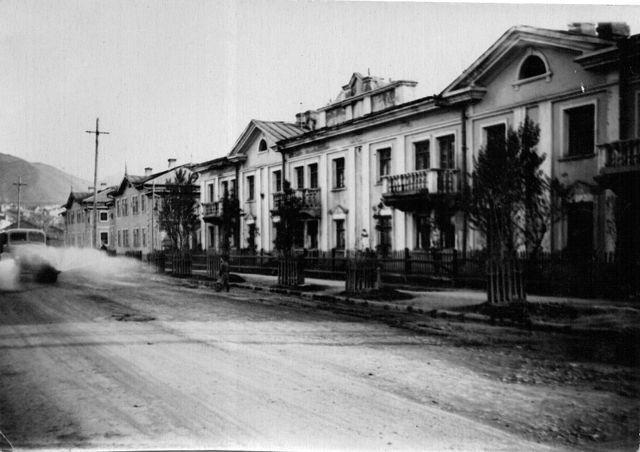 Жилой дом №91 по улице Советской г. Холмск