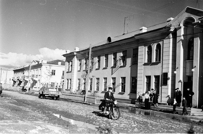 Жилые дома по улице Гвардейской г. Корсаков
