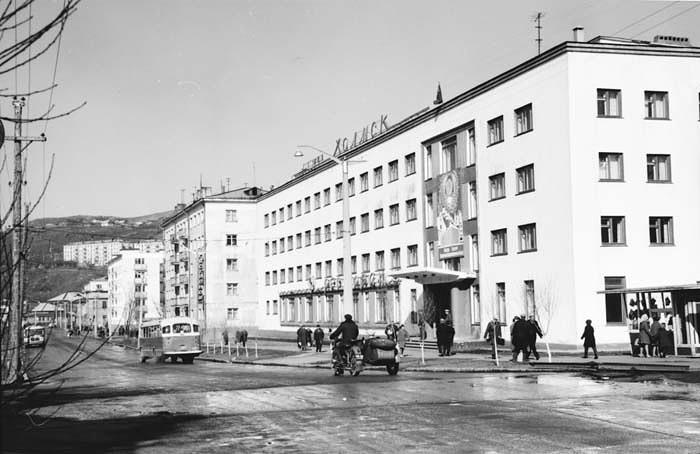 Улица Советская, гостиница 'Холмск' г. Холмск