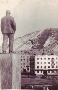 Вид от памятника В.И. Ленина