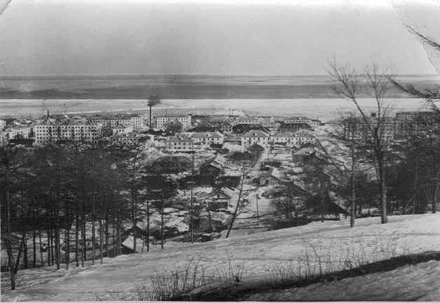 Вид на город Макаров