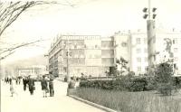 Вид на дом №49 на Коммунистическом проспекте г. Южно-Сахалинск