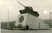 Танк на площади Победы г. Южно-Сахалинск