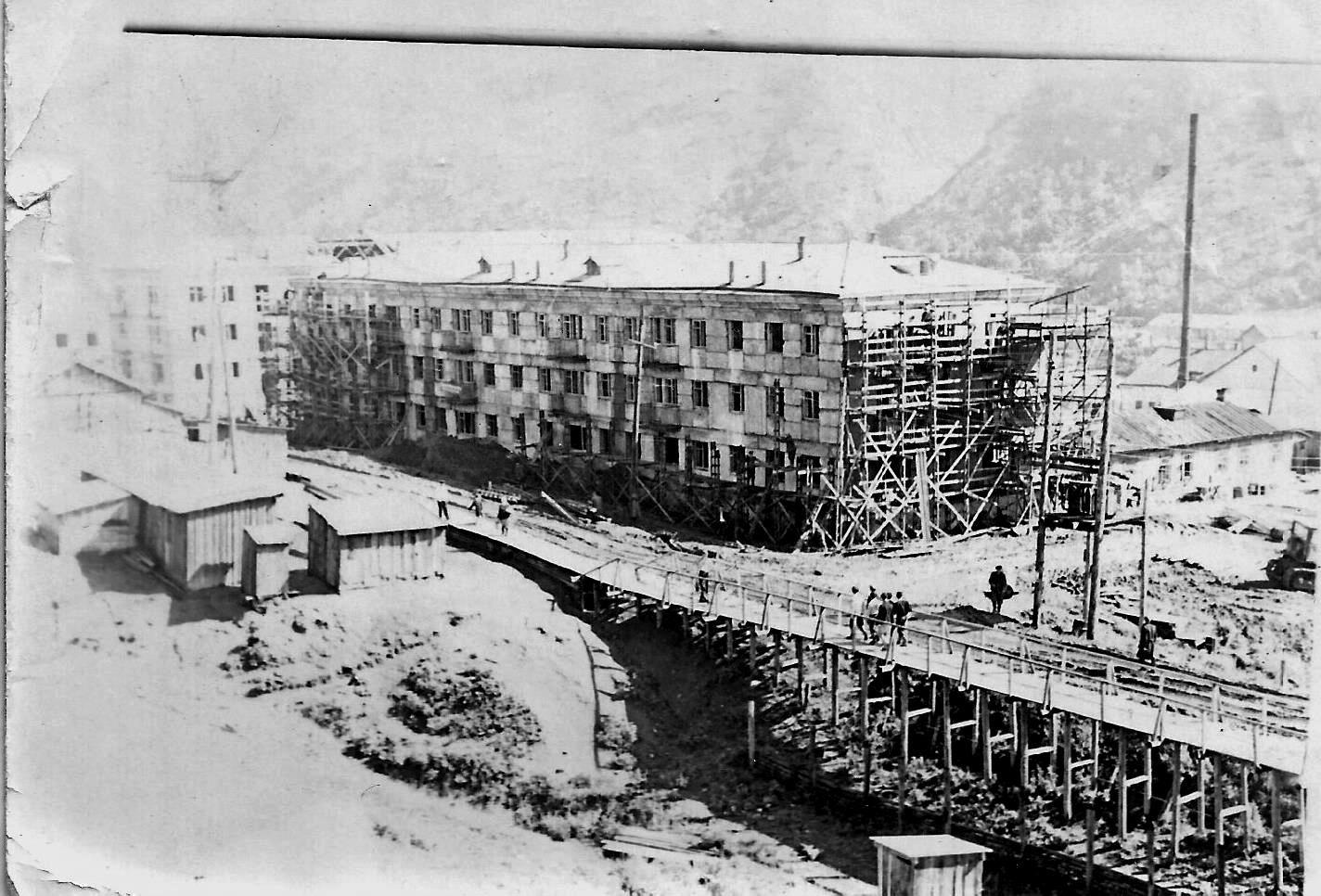 Строительство дома №1 по улице Торговой в с. Быков