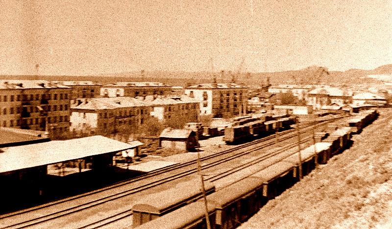 Железнодорожный вокзал г. Холмск