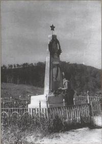 Памятник героям-освободителям на Холмском перевале.