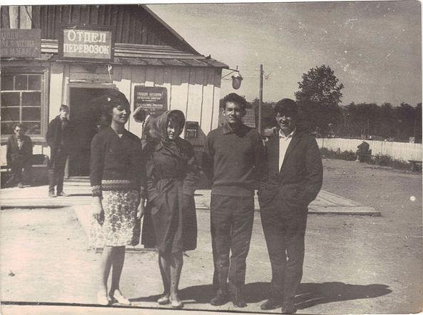 Аэродром в поселке Зональное.
