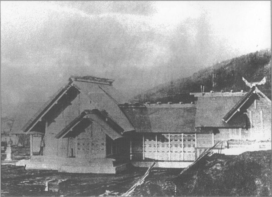 Синтоистский храм Маока дзинзя г. Холмск