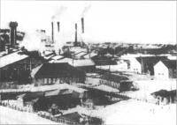 Целлюлозно-бумажный комбинат в г. Холмск