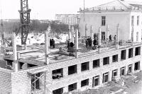 Строительство здания СахалинНИПИморнефть в Охе