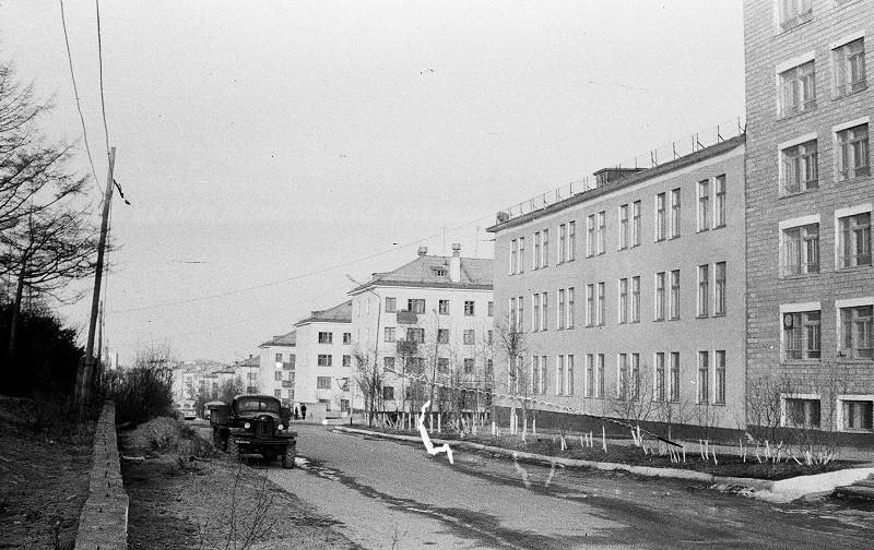 Здание СахалинНИПИморнефть в г. Оха