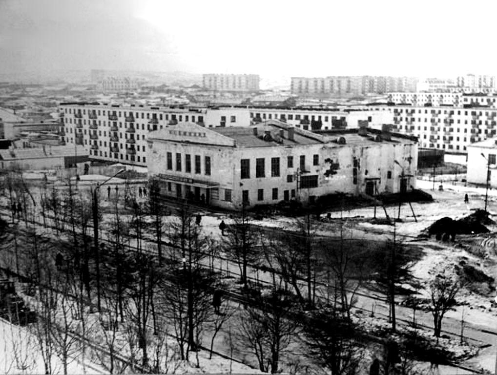 Кинотеатр Нефтяник г. Оха