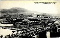 Вид на целлюлозно-бумажный завод в г. Сиритору
