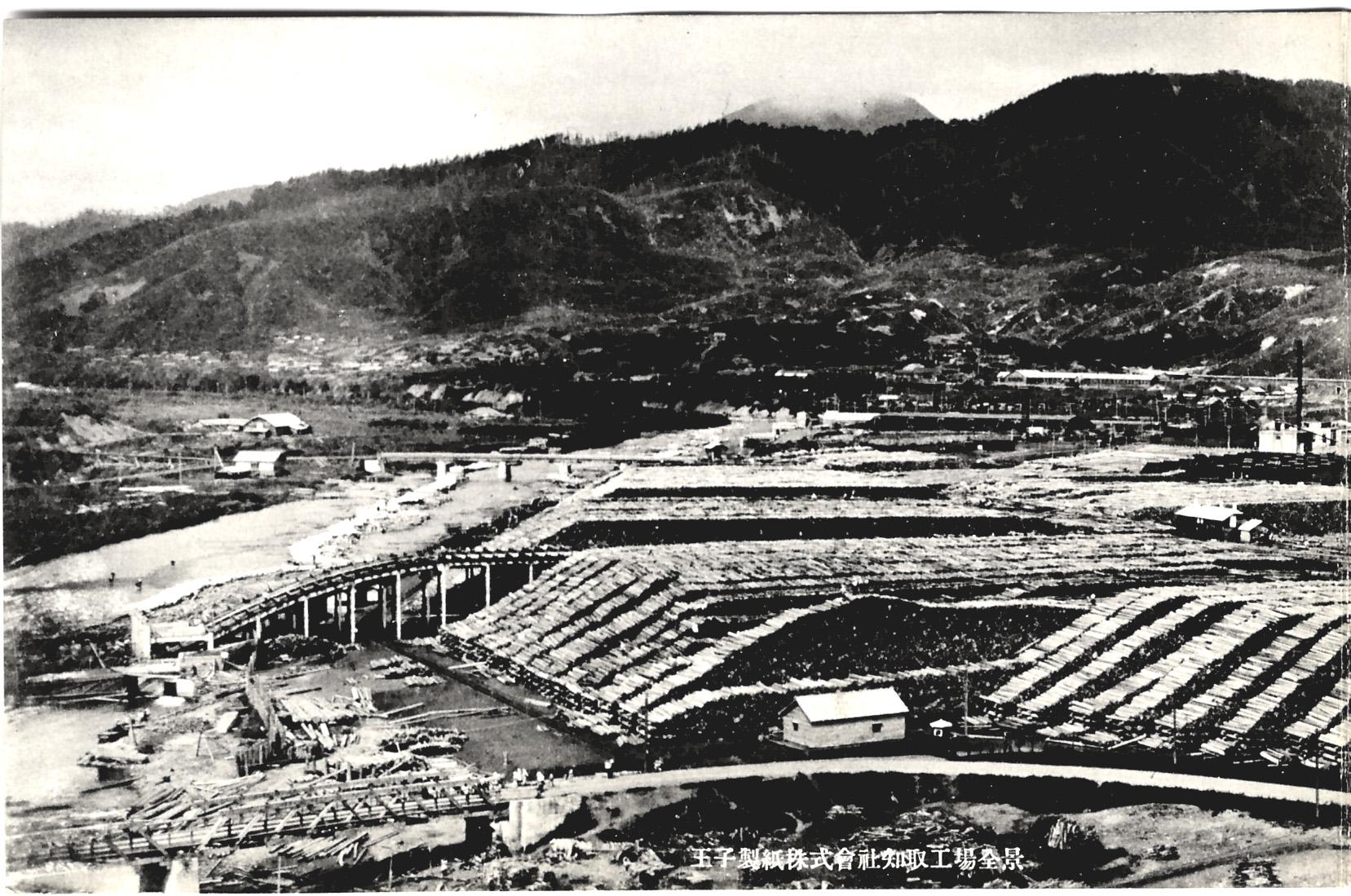 Целлюлозно-бумажная фабрика Оджи в г. Сиритору