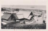Вид на храм Маока дзинзя г. Маока