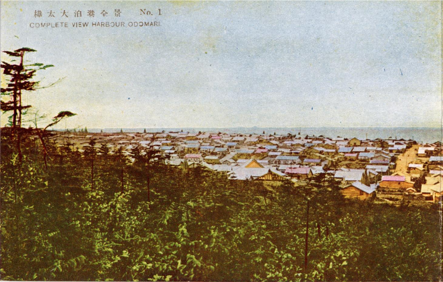 Панорама гавани г. Одомари. 1 из 4.