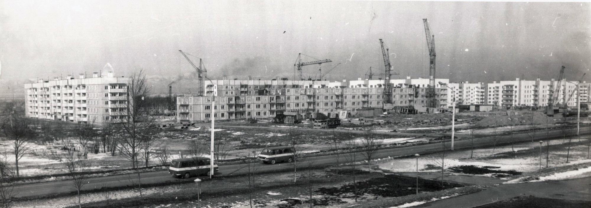 Строительство 11 микрорайона в г. Южно-Сахалинске