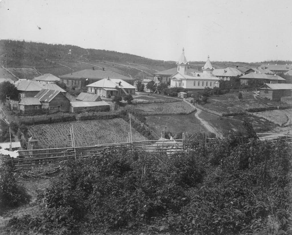 Панорама поста Корсаковского. 3 из 4.
