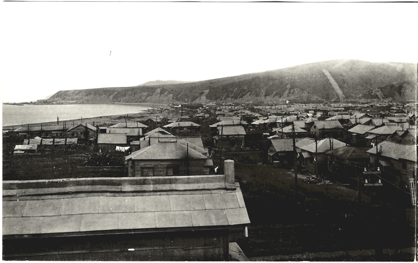 Панорамный вид на город Томариору. 1 из 2.