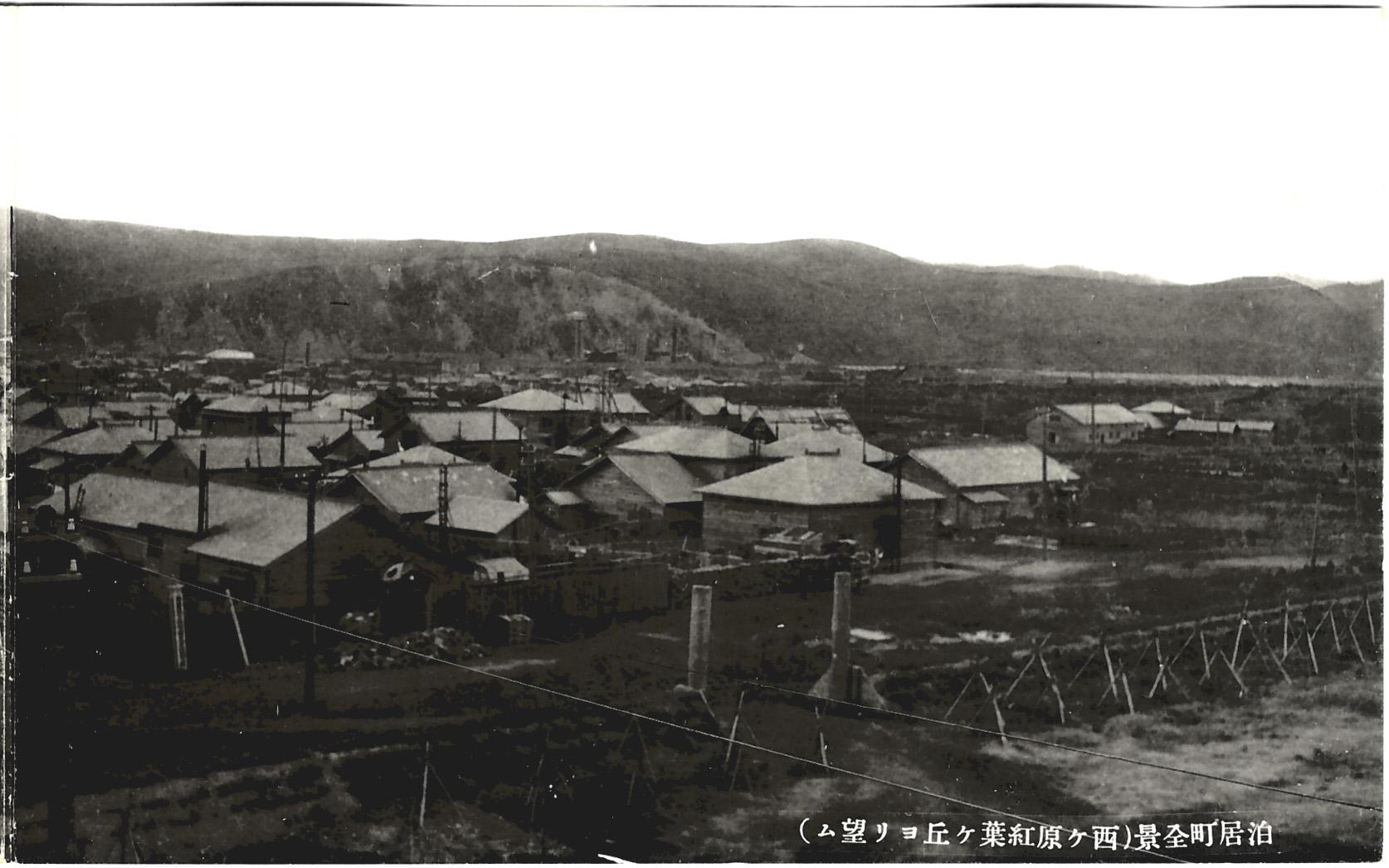Панорамный вид на город Томариору. 2 из 2.