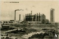 Целлюлозно-бумажная фабрика Одзи в Тойохара