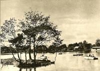 Озеро Верхнее в городском парке КиО г. Южно-Сахалинска