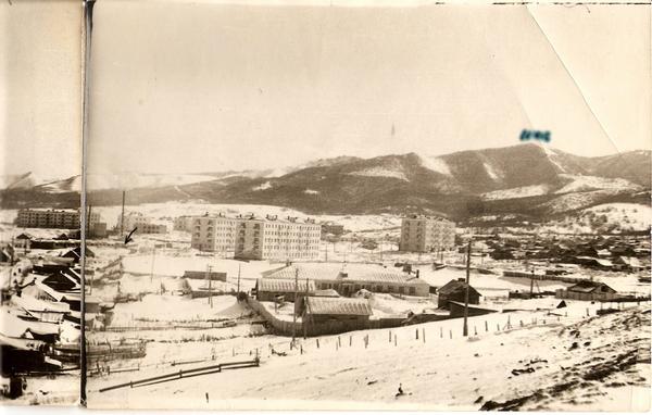 Панорама города Томари. 3 из 3.