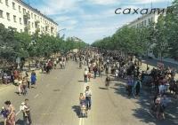 В воскресный день главная магистраль областного центра стала местом проведения ярмарки