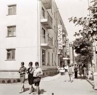 На улице Ленина в г. Южно-Сахалинске