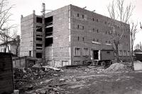 Строительство здания государственного архива.
